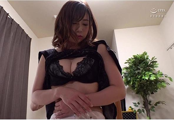 大浦真奈美・貞淑妻が夫に内緒でAV出演!イク事を我慢させられ、気が狂う程寸止めされた後の気持ちよすぎる大絶頂セックス!