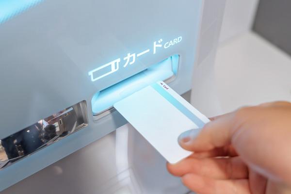 銀行ATMカード